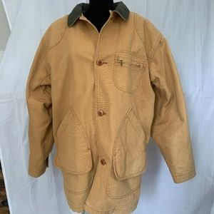 PreOwned L.L. Bean Mens Wool Lined Field Barn Coat